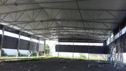 Монтаж та будівництво ангарів Рахів.