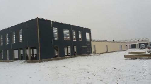 Ангар склад побудувати  в Україні.