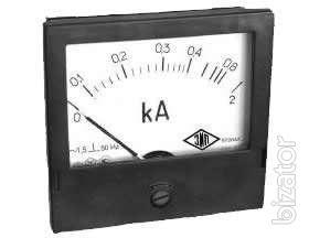 Sell panel ammeters, voltmeters, wattmeters,