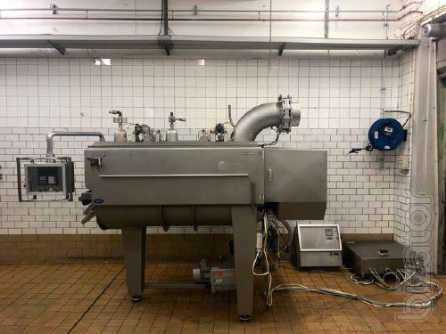 Twin-shaft paddle mixer Wolfking TSM 1000L