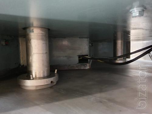 Twin-shaft ribbon mixer Wolfking 3000L
