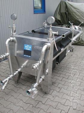 equipment filling spout filler filling monoblock DN-1-DVS 125 DN Nam peas pasta sauce ketchup juice