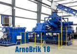 полная линия для переработки металлической стружки arnobrik тип hsb 18 434