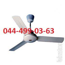 Вентилятор потолочный с регулятором 1400мм