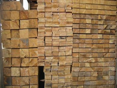 Timber boards, rafters rake delivery