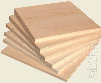 Sale of Plywood in the range FC PSF, POP, OSB-3.