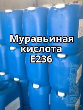Муравьиная кислота E236