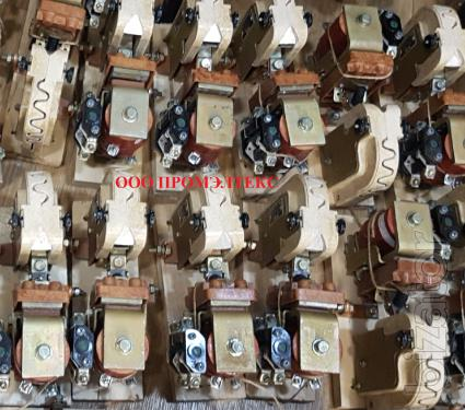 Контактор КПП-113(Uкат24В,50,75. 160А), контактор КТК 0-10(50В,24В,16А)