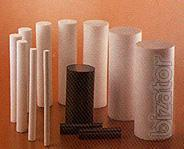polyethylenterephthalat (Dacron) in sheets and rods