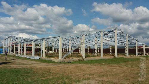 Монтаж металоконструкцій Ізяслав. Ангар будівництво недорого.