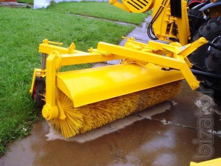 Brush communal with mechanical drive MTZ-UK