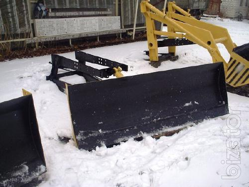 Dozer blade ABOUT 05 (removable) for PF-0,8