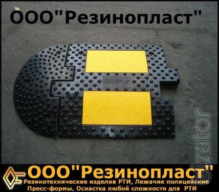 "Road roughness ""bumps"" from the manufacturer in Ukraine"