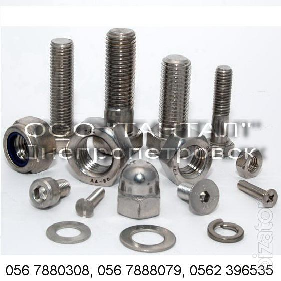Produce Custom Bolts Nuts Studs Screws Rivets Pins