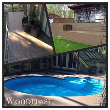 Decking Legro, Bruggan, Mirradex from Woodplast