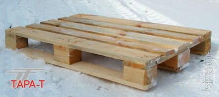 Packaging: pallets,pallets,containers
