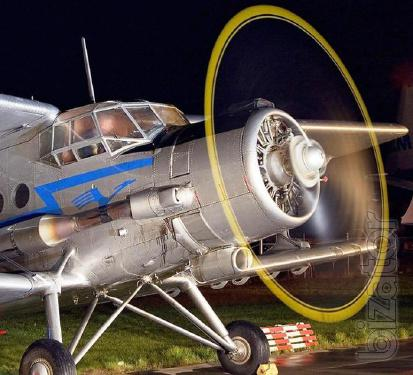 Aviation for dessication