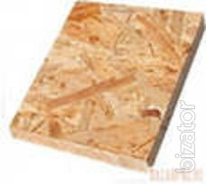 Stove construction OSB-3 thickness from 6 to 22 mm