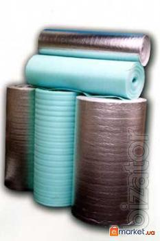 We offer insulation of foamed polyethylene