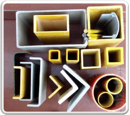 Продаем профили стеклопластиковые строительные
