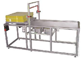 Equipment for cutting synthetic fabrics