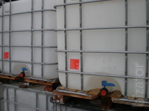 IBC - cubic capacity of 1000 liters. (Food and technical)