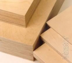 Plywood from a warehouse in Kiev, laminated, plywood