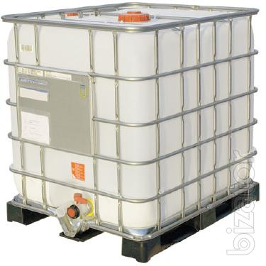 Capacity pallet 1000 litres for chemicals