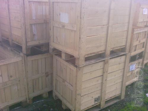 Sell pallets,drums,containers, wooden