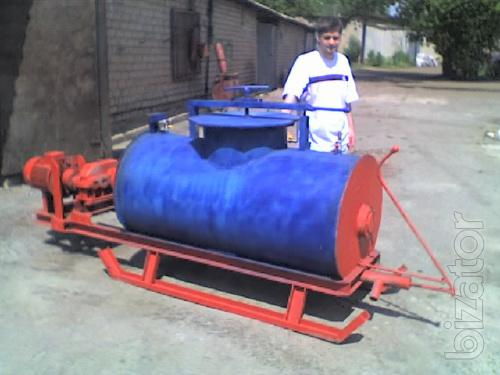 Equipment for foam concrete production