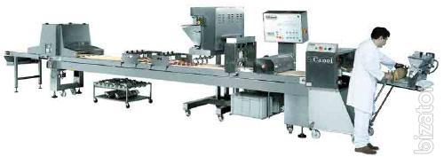 The equipment for manufacture of minikani fornetti