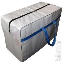 The shopping bags, flexible containers,sewing bags