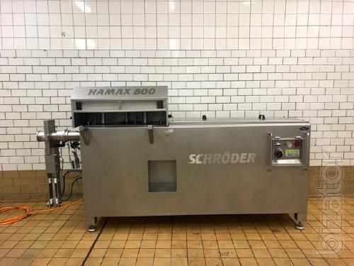 Whole muscle stuffer Schröder Hamax 800