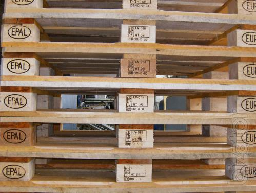Export-Promaterial, Pallets