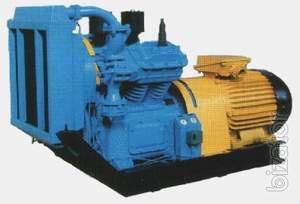 Compressor equipment . Compressor WU-5/9, AKP-2, EK2-150, AKA-2/150, K2-150.