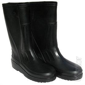 Rubber boots, galoshes, boots, rubber produ