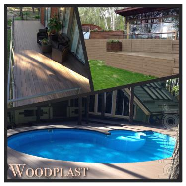 Deck boards, composite decking