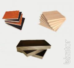 Plywood water-resistant PSF, laminated