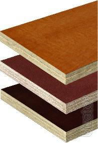 Plywood formwork