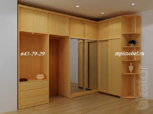 Custom made cabinets. Freestanding and built-in cabinets, furniture.