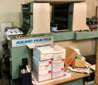 Two-color offset printing machine Roland Practica