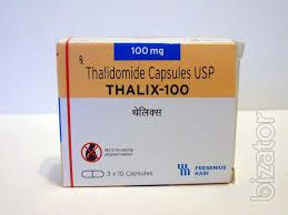 Thalix 100 mg №30 Thalidomide Таликс