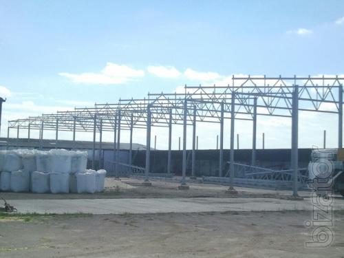 Будівництво ангарів в Україні