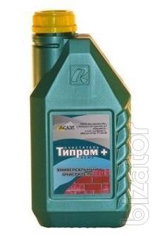 Типром Плюс - очиститель , концентрат для удаления высолов , атмосферных и растворных загрязнений кирпича
