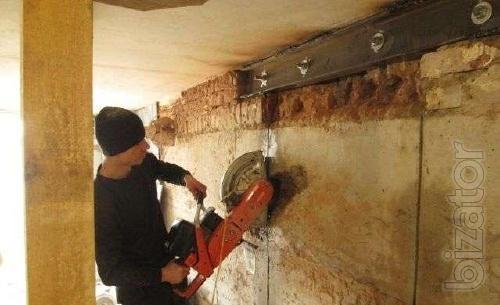Вывоз строймусора, хлама. Демонтаж, стен, пола. Алмазная резка бетона