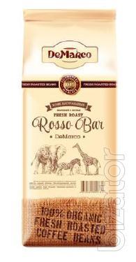 """Кофе зерновой Fresh Roast """"Rosso Bar"""" DeMarco"""