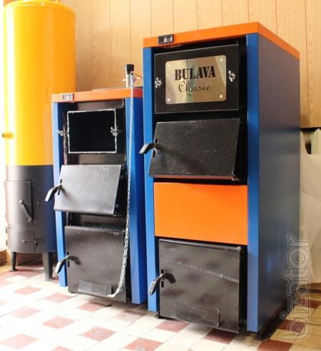 Предлагаем твердотопливные котлы BULAVA собственного Производства