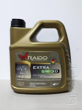 Raido Extra 5W-30 -полностью синтетическое  моторное масло