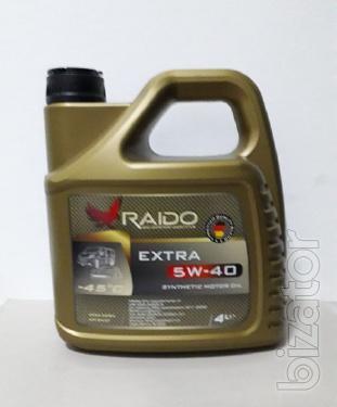 Raido Extra 5W-40 -синтетическое  моторное масло