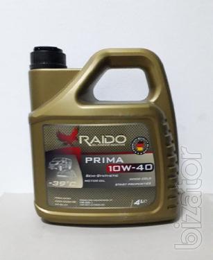 Raido Prima 10W-40 -полусинтетическое моторное масло
